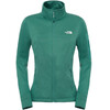 The North Face W's Kyoshi FZ Jacket Deep Sea Light Heather